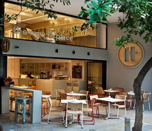 Simple Interior Design Ideas: PRANCHETA DE ARQUITETO: PROJ CAFETERIA: IT CAFÉ, ATENAS