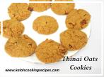 thinai oats cookies