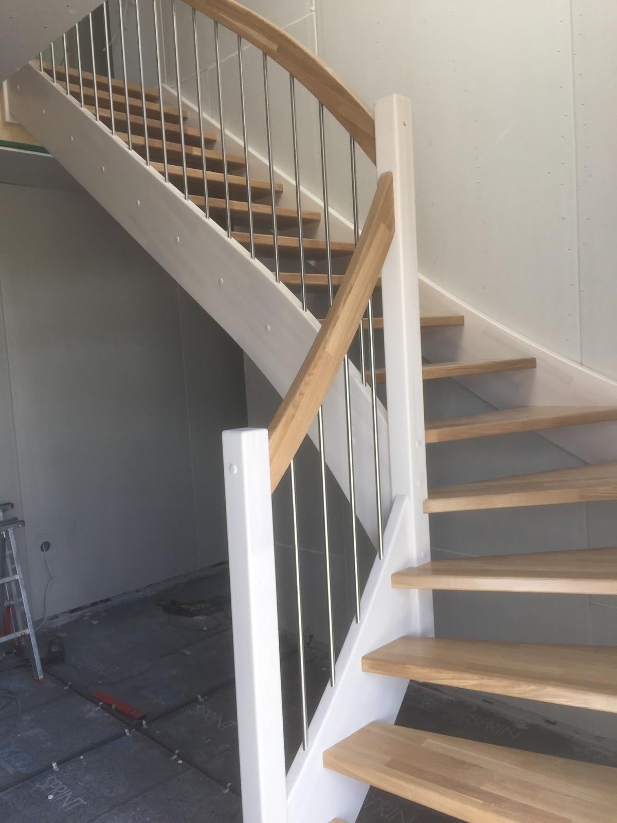 Wir Bauen Ein Haus Treppe Ist Da