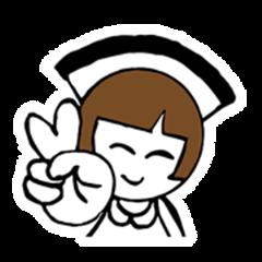 a nurse strong.