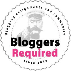 Bloggers Required Logo