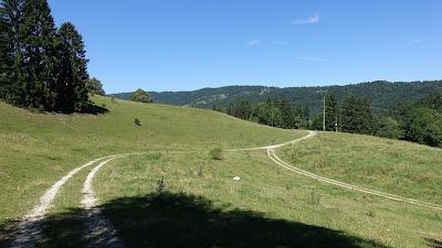 Unterwegs Richtung Sonceboz-Sombeval
