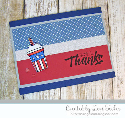 I'd Like to Espresso My Thanks card-designed by Lori Tecler/Inking Aloud-digital images from Verve Stamps