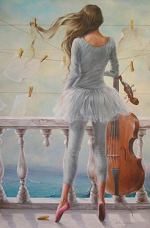 10-Chelin-Sanjuan Piquero-Oil-Paintings-in-Magical-Realism-www-designstack-co