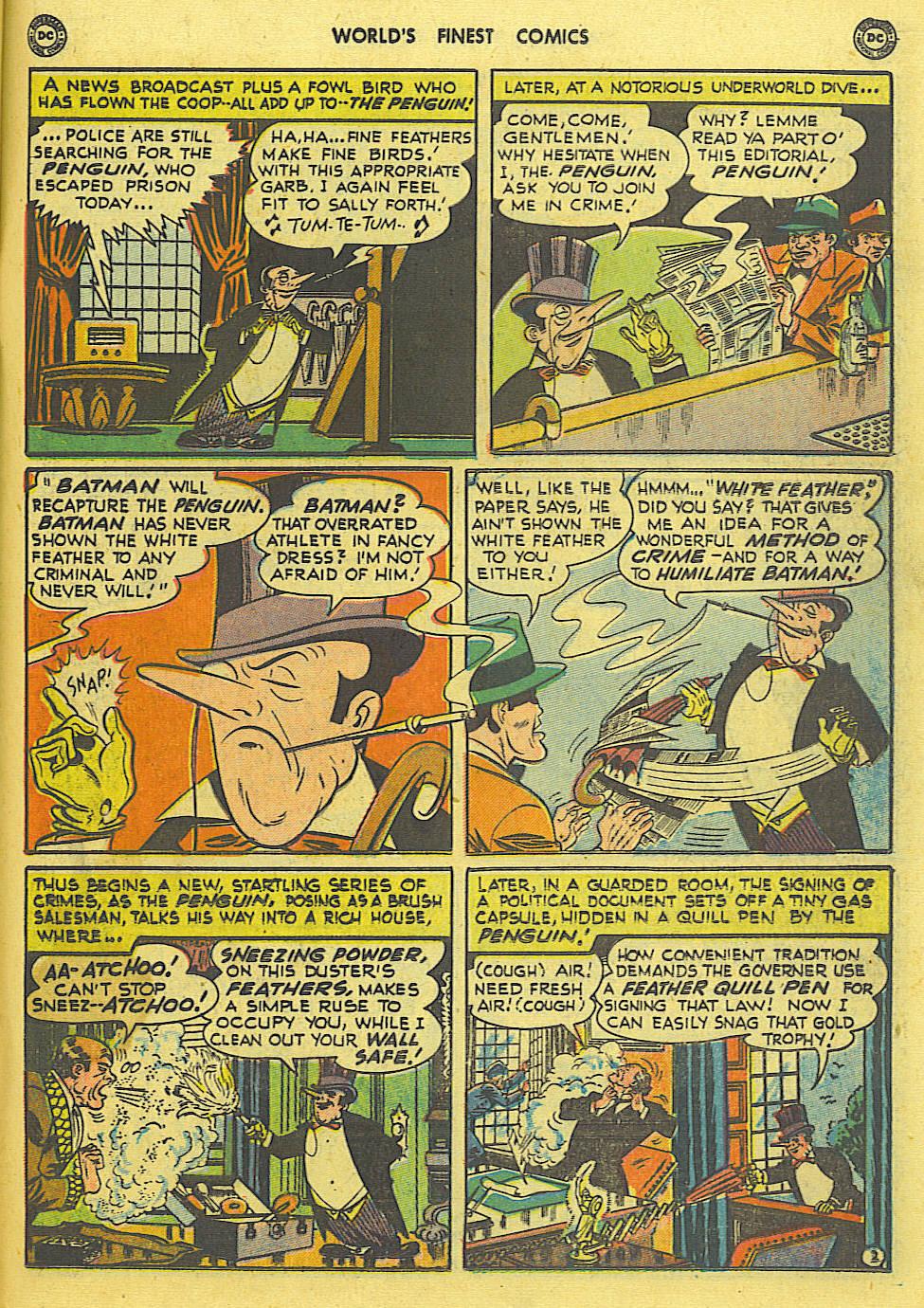Read online World's Finest Comics comic -  Issue #49 - 64