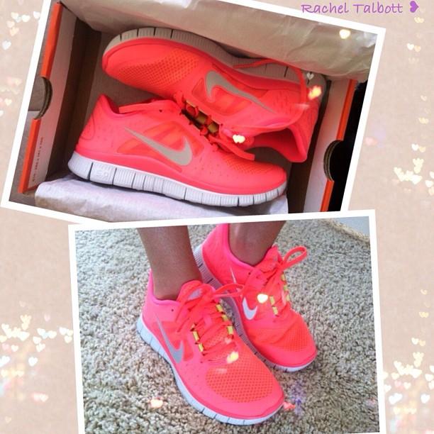Nike Free Pink Gelb