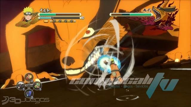 Naruto Ultimate Ninja Storm 3 Xbox 360 Español NTSC-U XGD3
