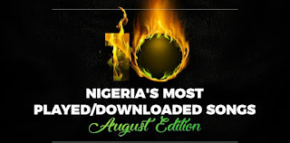 HOTTEST SONGS! Check Out 10 Most Played / Downloaded Songs In Nigeria At The Moment (August/September Edition)
