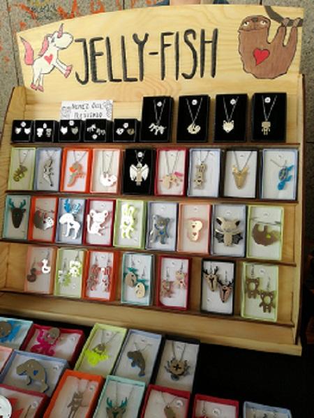 Jelly-Fish, design, ruční-práce