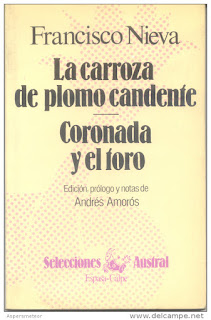 """""""La carroza de plomo candente; Coronada y el toro"""" - Francisco Nieva"""