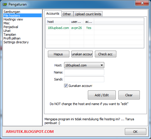 Cara Upload File Ke Berbagai Hosting Dengan Cepat