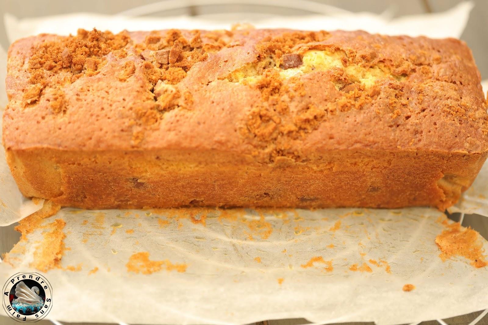 Cake praliné spéculoos de Christophe Felder