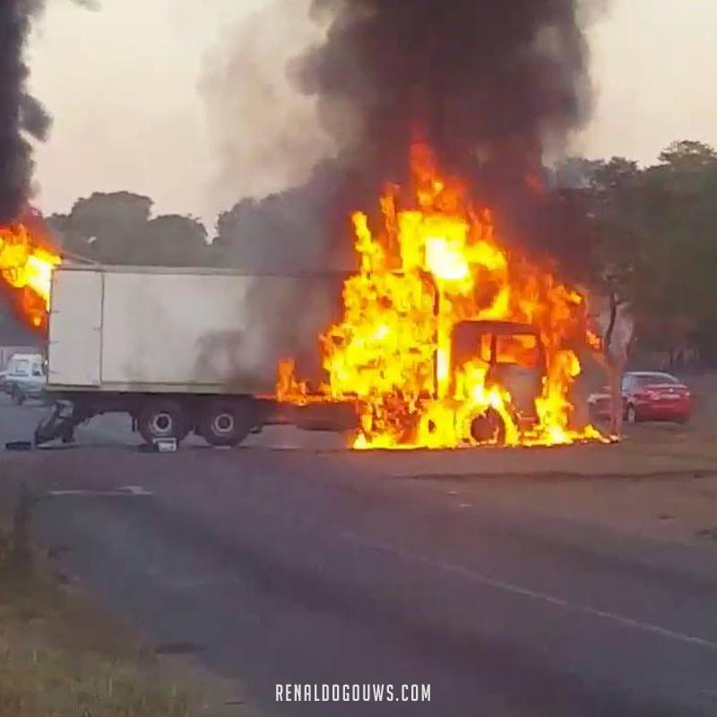 Renaldo Gouws | Tshwane is Burning.