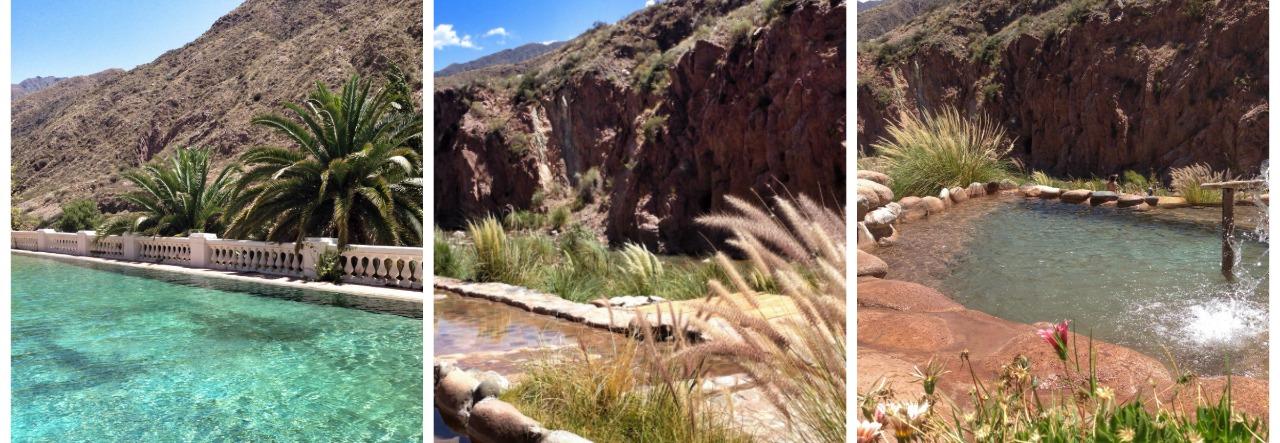 Descanso na Cordilheira dos Andes