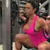 Gracyanne Barbosa malhando pernas (quadríceps e posteriores da coxa)