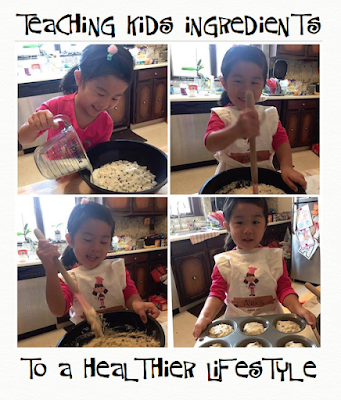 What better way to teach kids to eat healthy, than showing them the ingredients that are healthy!