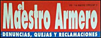 """Logotipo de la revista """"el Maestro Armero"""""""