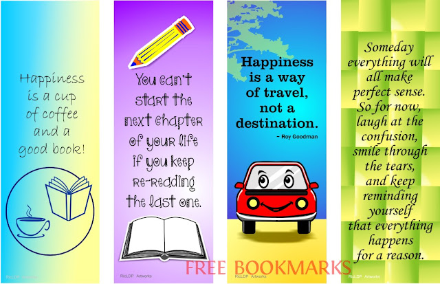 pinoy printable colored bookmarks