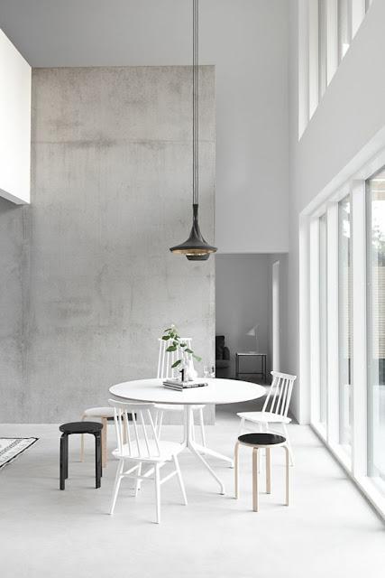 betong tapet ljus grå tapet