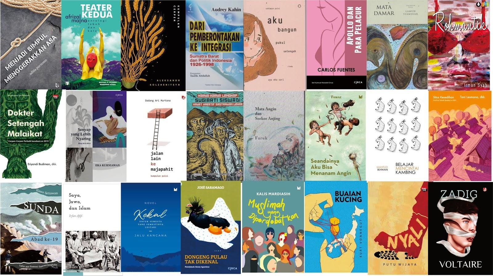 Jualan Buku Sastra Katalog Sastra Bulan Mei 2019