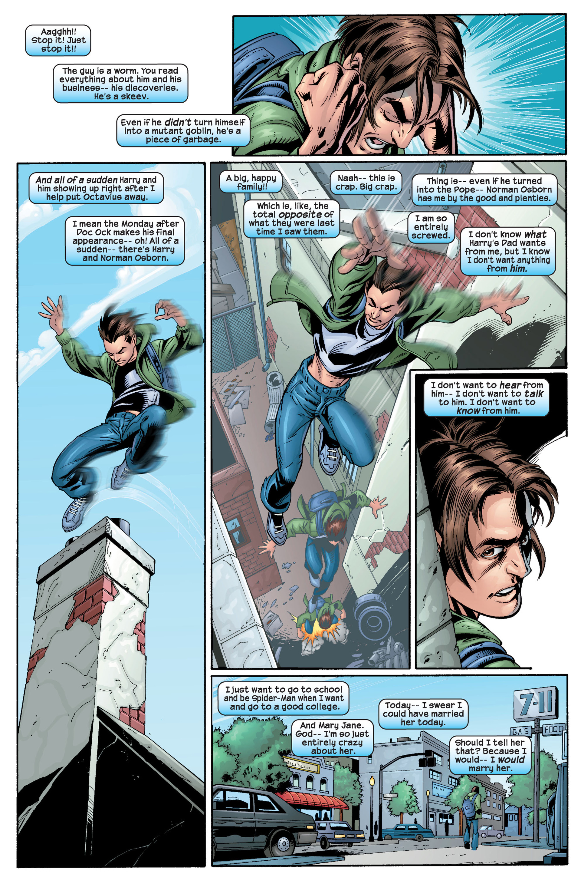 Read online Ultimate Spider-Man (2000) comic -  Issue #22 - 24