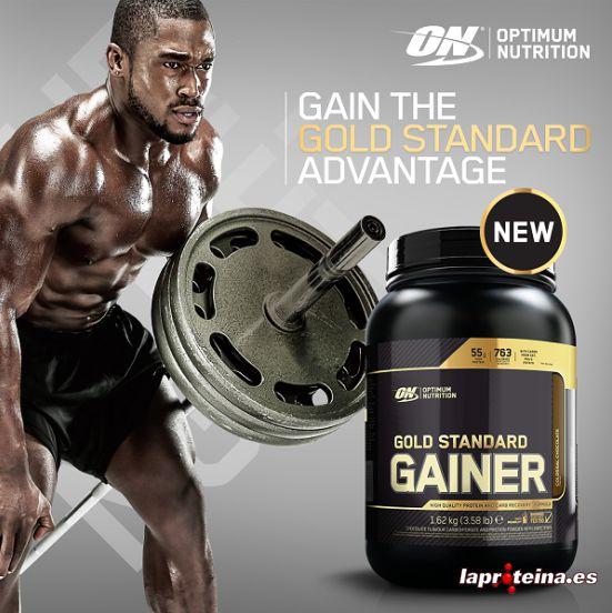 Optimum Nutrition Gold Standard Gainer 3,25 kg Muskelaufbau Weight Mass Gainer