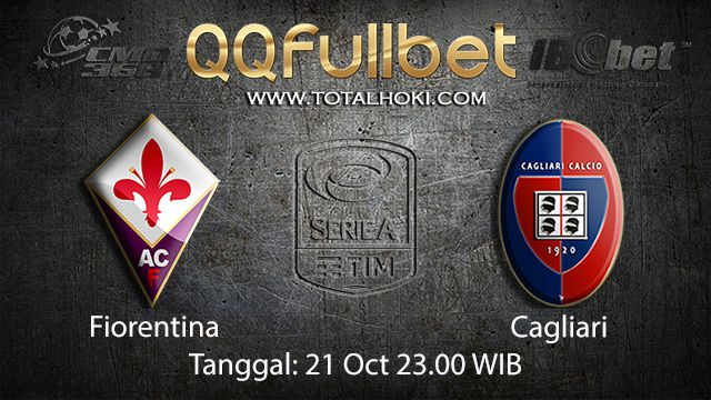 Prediksi Bola Jitu Fiorentina vs Cagliari 21 October 2018 ( Italian Serie A )