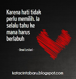 Kata Kata Cinta Dewi Lestari