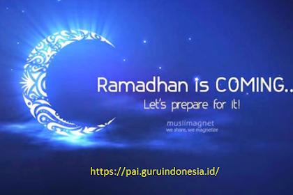Khutbah Rasulullah SAW Menyambut Bulan Suci Ramadhan