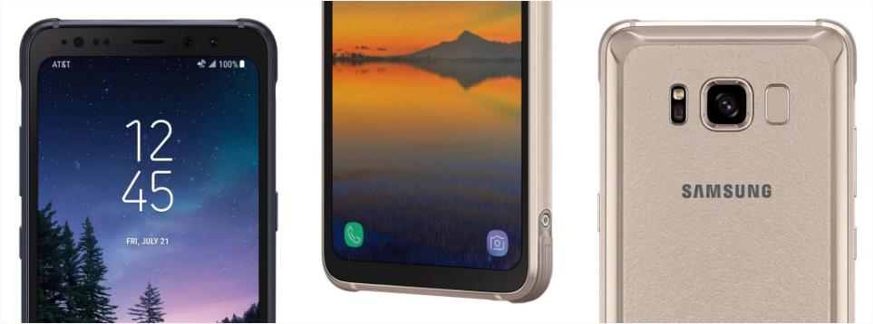 Samsung Galaxy S8 Active cho nhà mạng AT&T