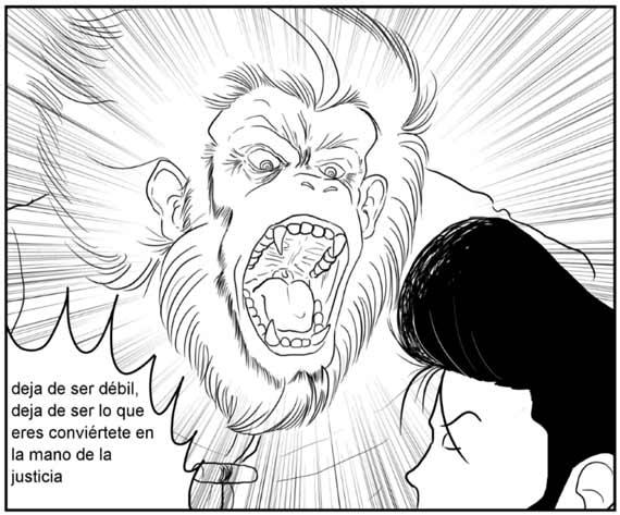 maestro mono, reseña, cómic, la justicia del desierto