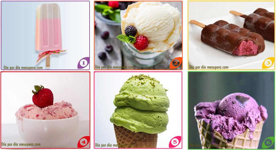 Elige el Helado que te comerías en este momento y sabrás lo que te espera!