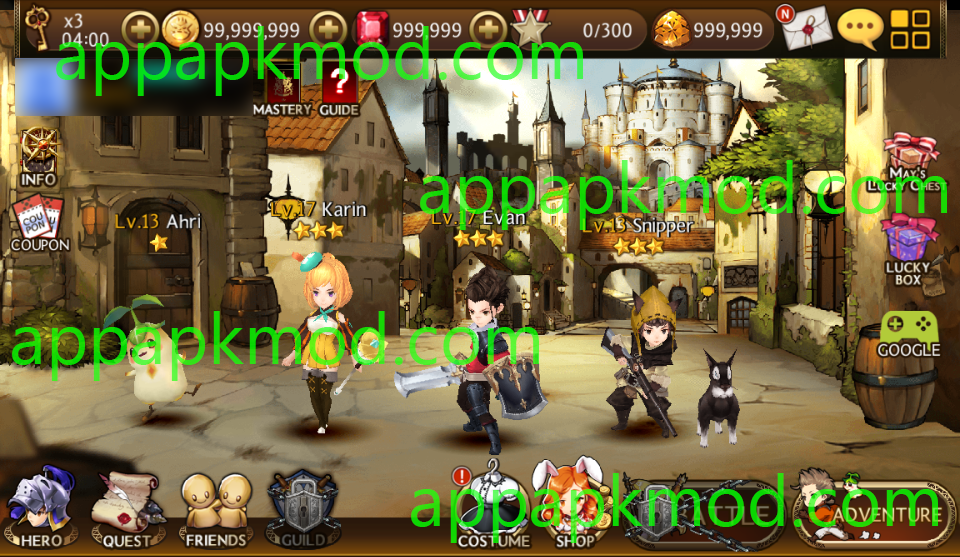 Android Mod] Seven Knights APK (Unlimited Gold, Rubies