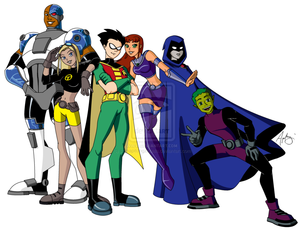 Who Are The Teen Titans