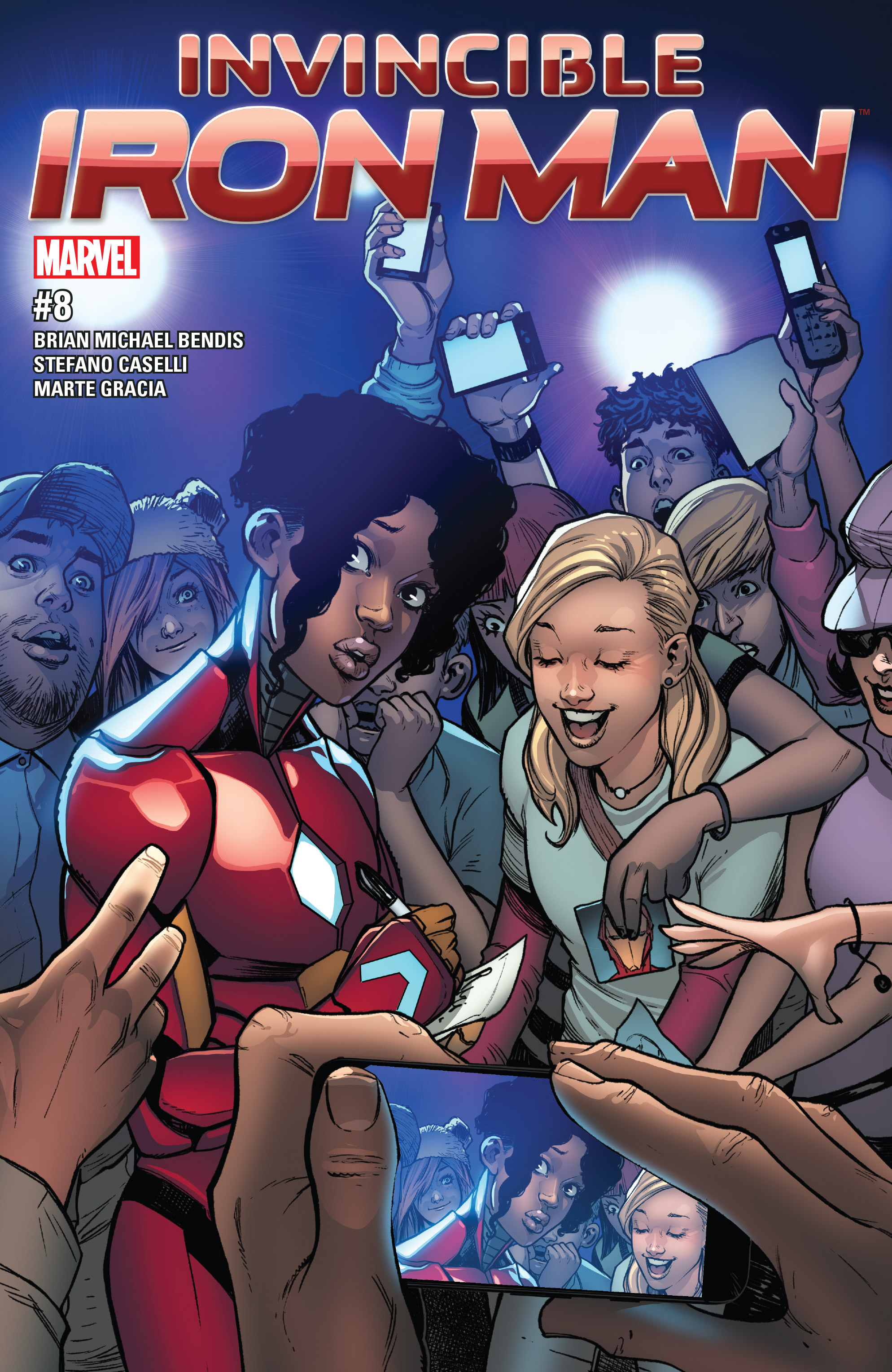 Read online Invincible Iron Man (2016) comic -  Issue #8 - 1