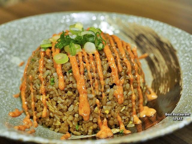 Tansen Izakaya 炭鲜居酒屋 Menu - Mentaiko Fried Rice
