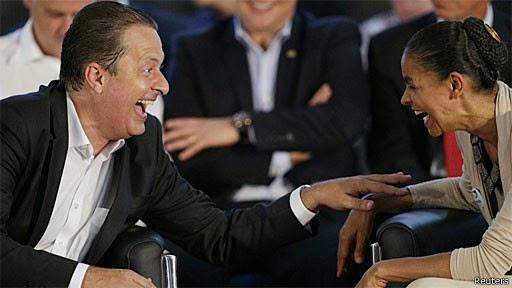 Eduardo Campos havia se aliado a Marina Silva! Essa Marina ....