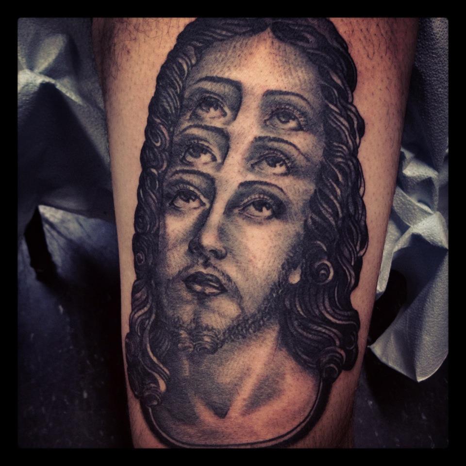 Third Eye Tattoo: Grant Cobb Guest spot at Third Eye!