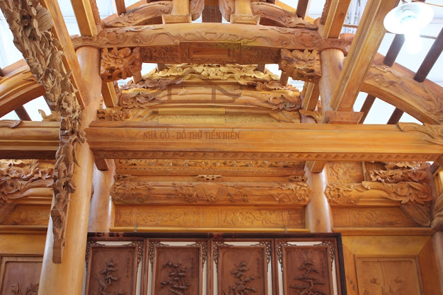 nhà gỗ kẻ truyền đẹp