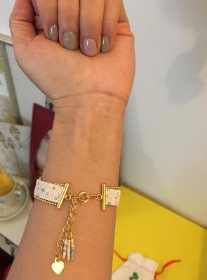bracelet tissé tuto