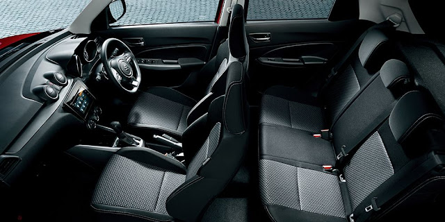 Maruti Suzuki Swift 2017 Interiors