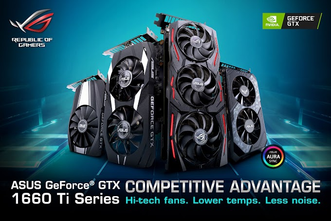 ASUS Reveals Product Lines for 1660 Ti Series