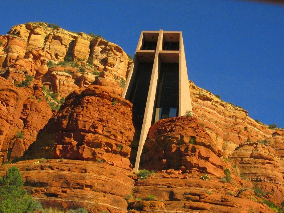 chapel of the holy cross sedona