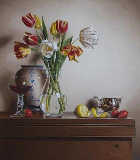flores-y-frutas-representaciones-realistas cuadros-frutas-flores-bodegones