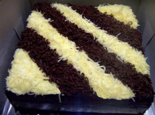 Kue Brownies Kukus Coklat Dan Keju Lembut