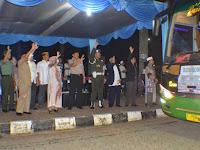 Wabup Bogor Lepas 444 Calon Jamaah Haji  Kabupaten Bogor