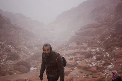 Late Mohamed Ramadan at Saint Catherine Mount
