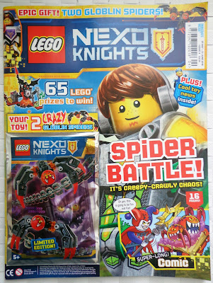 LEGO Nexo Knights Magazine Issue 04