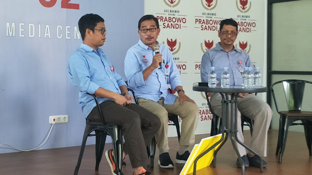 Kubu Prabowo-Sandi: Lawan Kami Bukan TKN Jokowi-Maruf, tapi Aparat Negara