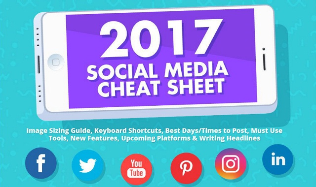 2017 Social Media Cheat Sheet